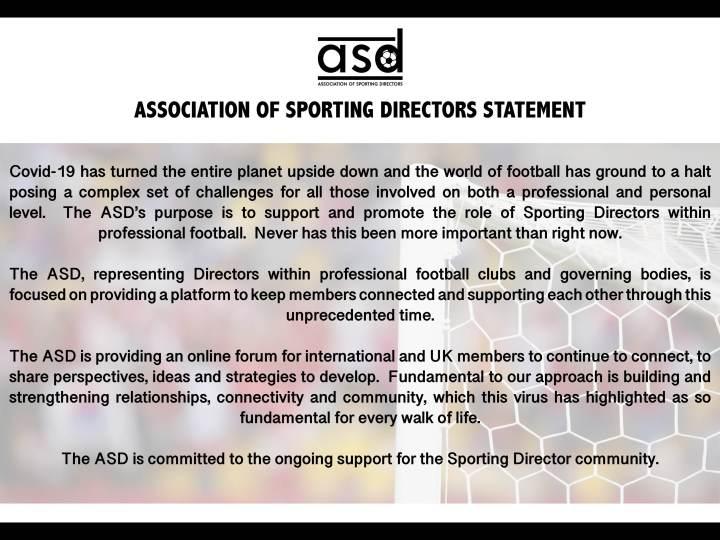 ASD Statement